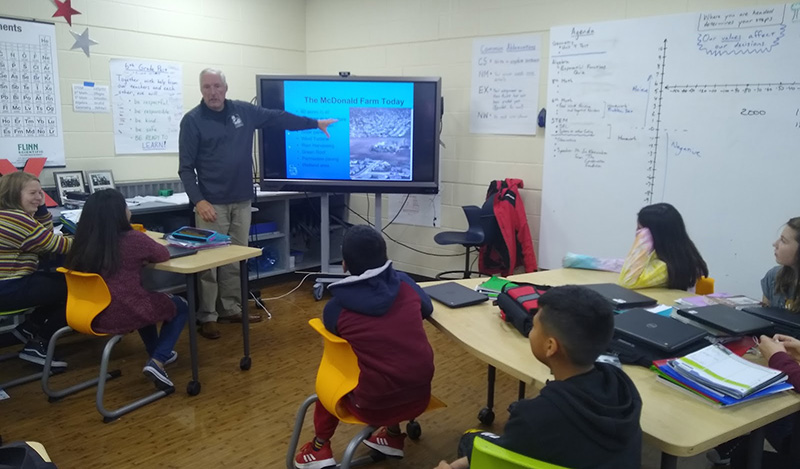 The Conservation Foundation collaborated with sixth grade students